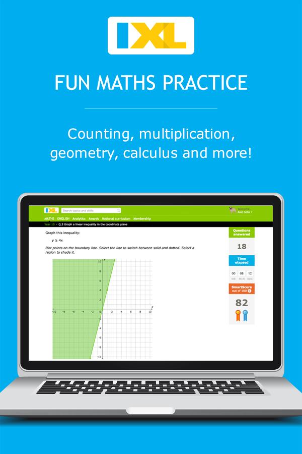 IXL | Maths and English Language Practice